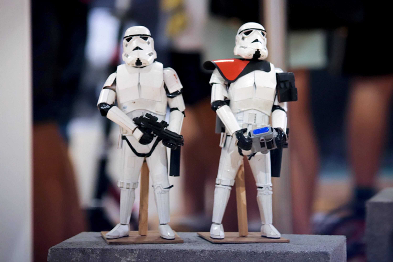 Star Wars makett