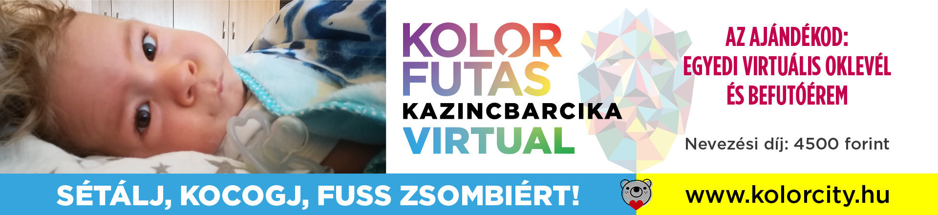 Virtuális Kolorfutás Kazincbarcika
